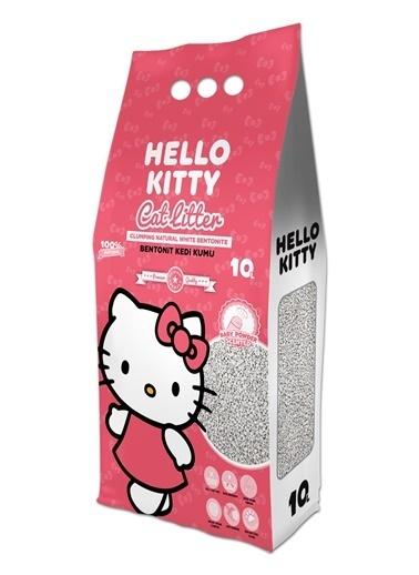 Hello Kitty HELLO KITTY 10L BEBEK PUDRASI KOKULU BENTONİT KEDİ KUMU Renkli